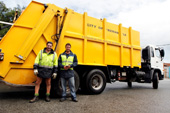 Green waste collection and bulk waste