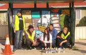 New urban art in Beaconsfield