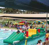 Family fun day at Fremantle Leisure Centre
