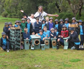 Students build nest boxes for wildlife
